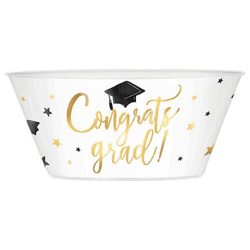 Grad Coupe Serving Bowl w/ Hot Stamp