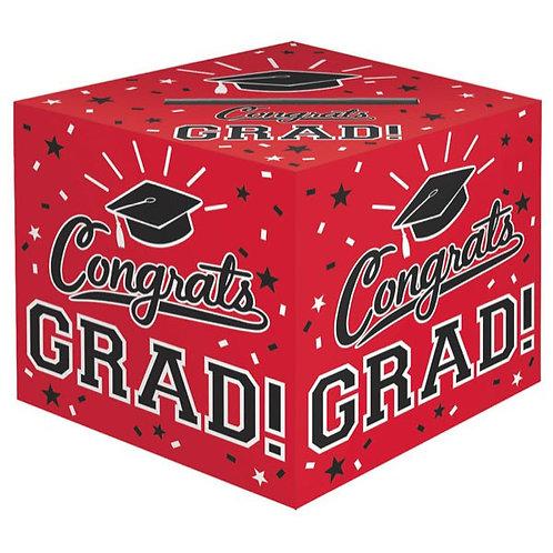 Grad Cardholder Box - Red