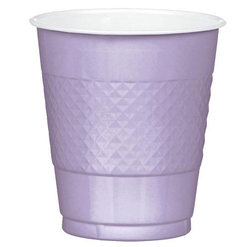 Lavender 12oz Plastic Cups 20ct