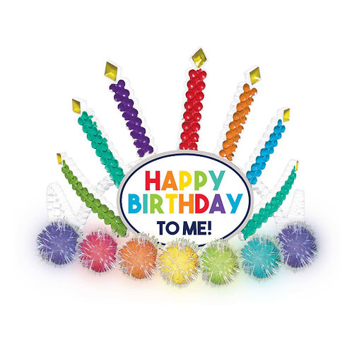Birthday Celebration Light-Up Tiara