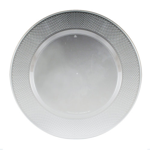 Concord Clear 10in Plastic Plates 15ct