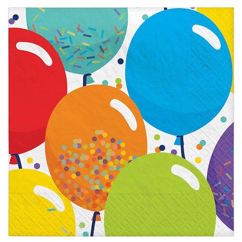 Birthday Celebration Beverage Napkins 125ct
