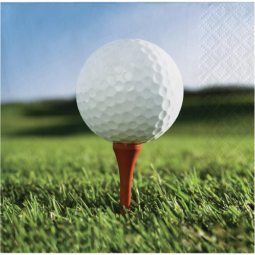 Golf Beverage Napkins 16ct