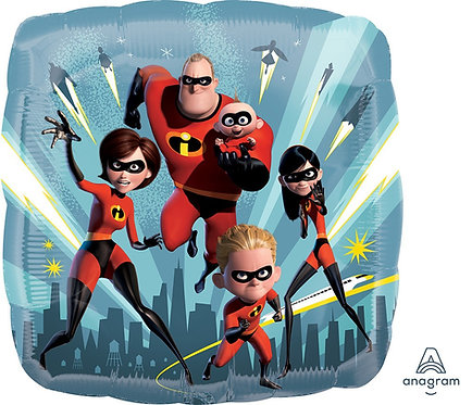 #410 Incredibles 2 18in Balloon