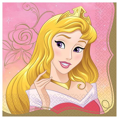 Disney Princess Lunch Napkins 16ct - Aurora