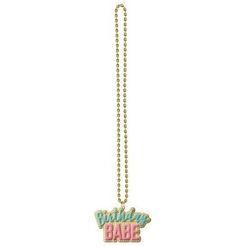 Confetti Fun Party Bead Necklace
