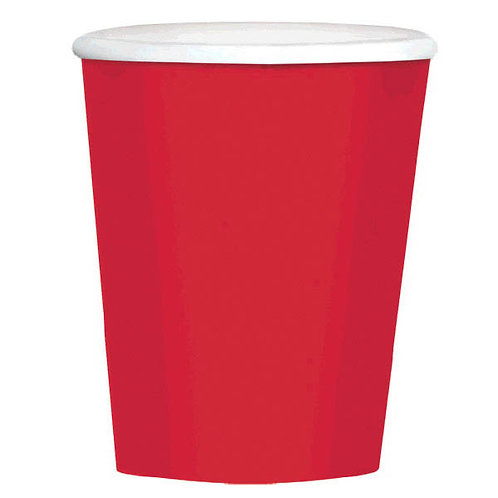 Red 12 oz. Paper Coffee Cups 40ct
