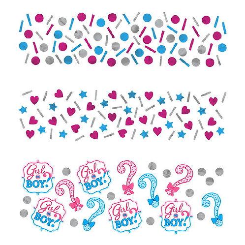 Girl or Boy? Confetti