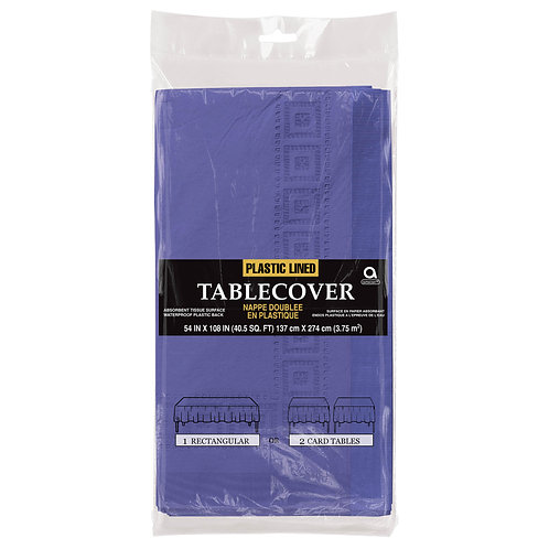"""Purple Paper Table Cover 54"""" x 108"""""""