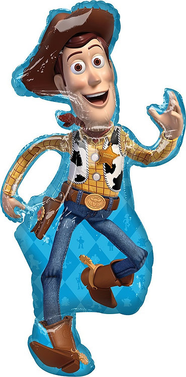 #120 Toy Story 4 Woody 44in Balloon