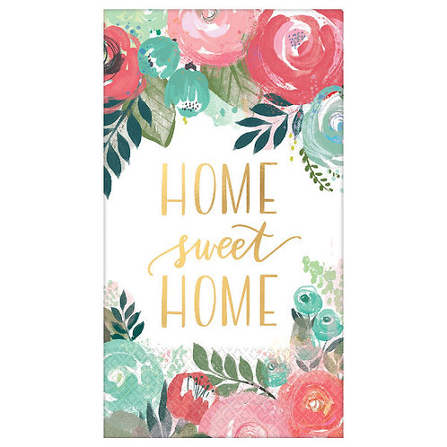 Home Sweet Home Guest Towels - Hot-Stamped 16ct