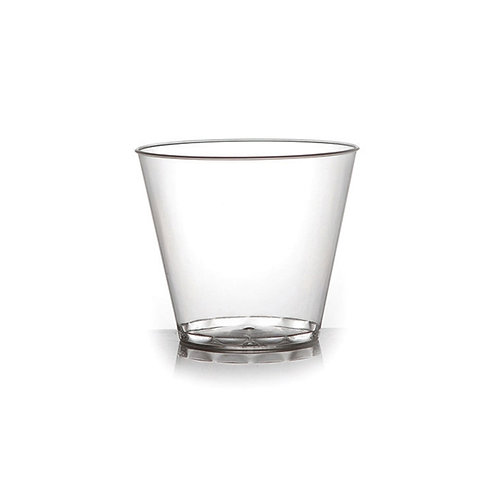 Clear 5oz Plastic Tumbler 20ct