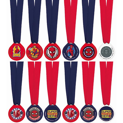 Spider-Man Webbed Wonder Award Medals
