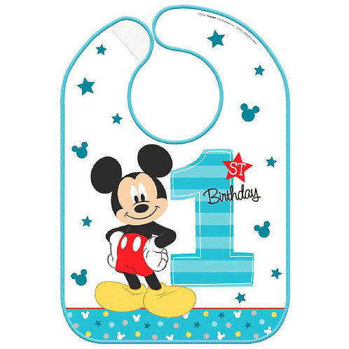 Mickey's Fun To Be One Baby Bib