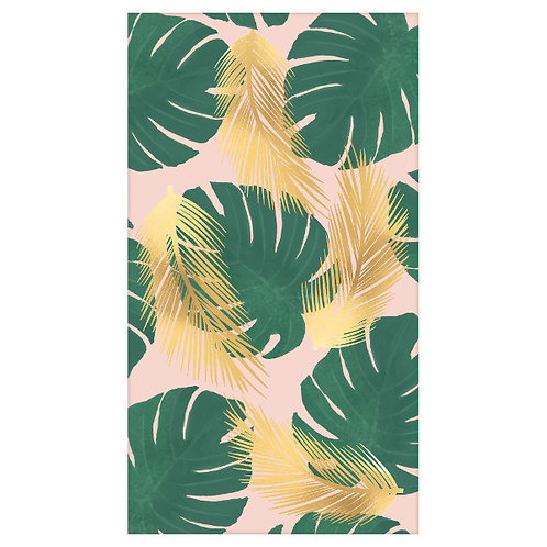 Tropical Paradise Guest Towels - Hot-Stamped 16ct