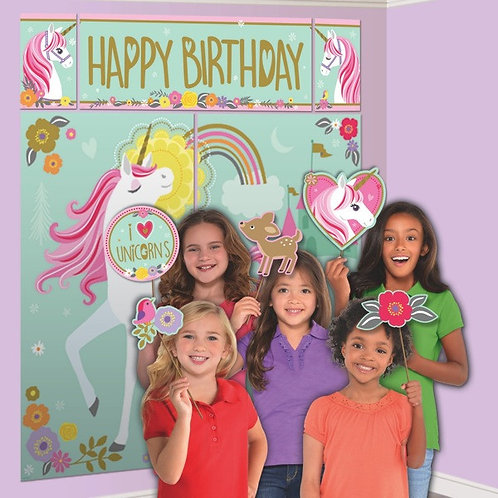 Magical Unicorn Scene Setters With Props