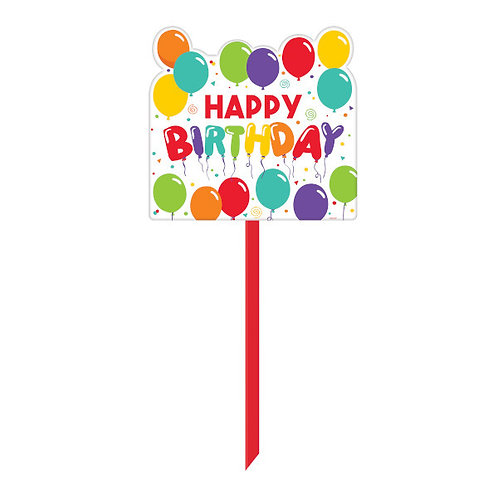 Birthday Celebration Yard Sign