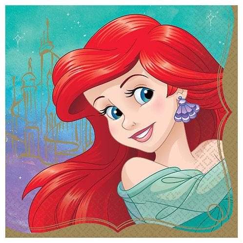 Disney Princess Lunch Napkins 16ct - Ariel