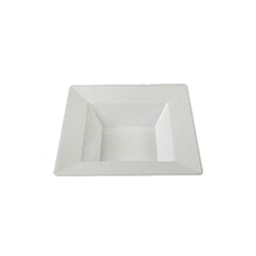 Simply Squared White 5oz Plastic Bowls 10ct