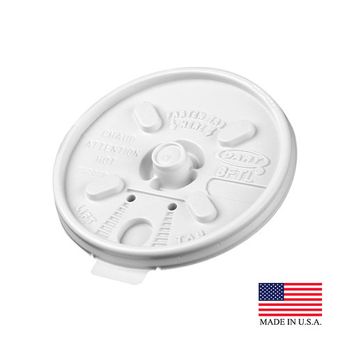 Lids For White Foam Coffee Cups 100ct