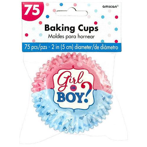 Girl or Boy? Baking Cups
