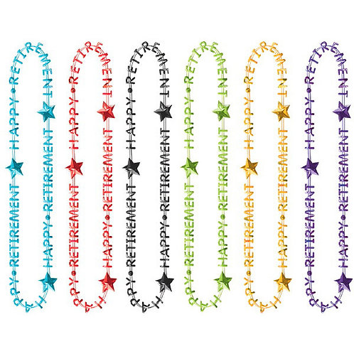 Officially Retired Retirement Necklaces 6ct