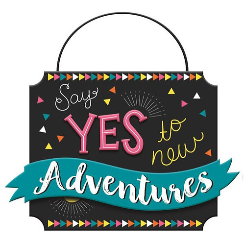 Grad Say Yes To New Adventures Mini Message