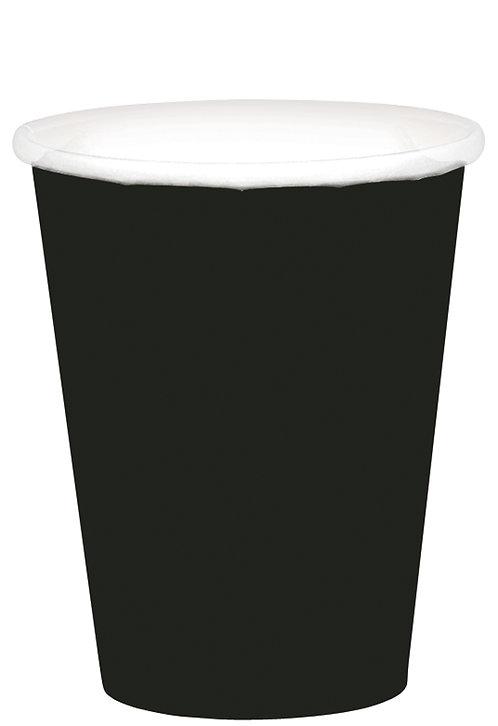 Black 9oz Paper Cups 20ct