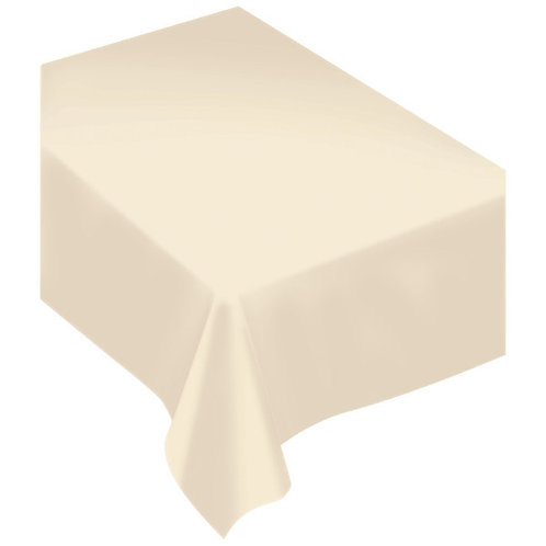 Vanilla Creme Fabric Tablecloth