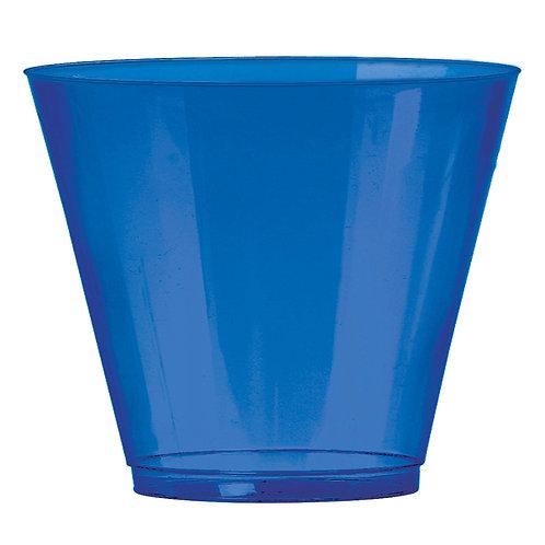Royal Blue 9oz Plastic Cups 72ct