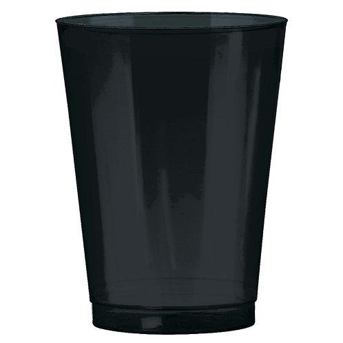 Black 10oz Plastic Cups 72ct