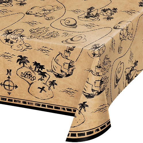 Pirate Treasure Table Cover