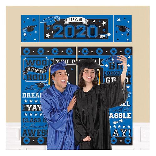 2020 Grad Blue Scene Setter Kit