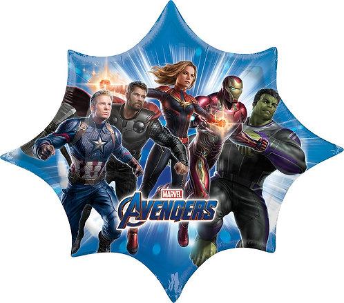 #126 Avengers Endgame 35in Balloon