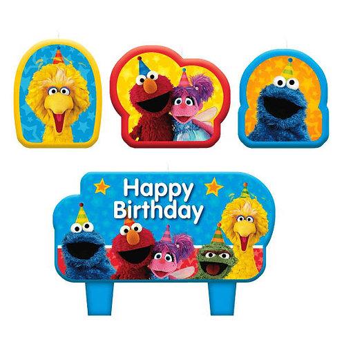 Sesame Street Birthday Candle Set