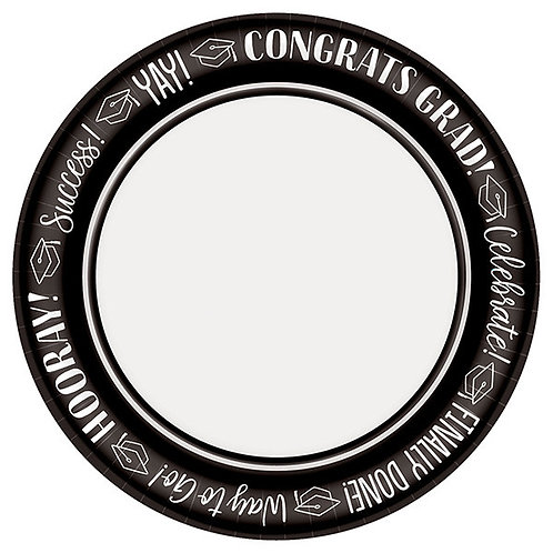 Celebrate Success 8.5in Plates 40ct
