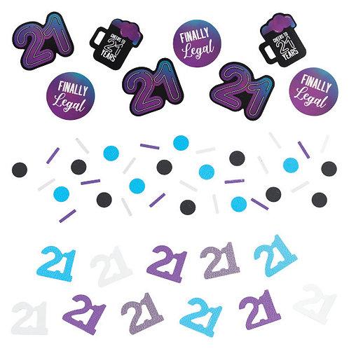 Finally 21 Confetti