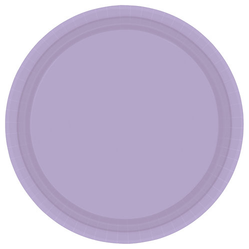 Lavender 9in Paper Plates 20ct