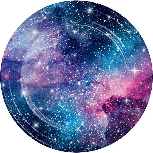 Galaxy Party Lunch Plates 8ct