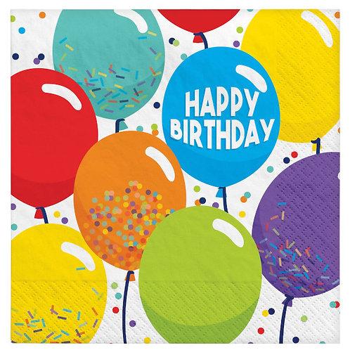 Birthday Celebration Luncheon Napkins 125ct