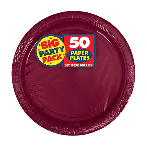 Berry 7in Paper Plates 50ct