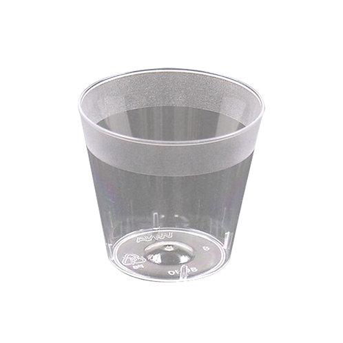 Clear 1oz Plastic Shot Glass 50ct