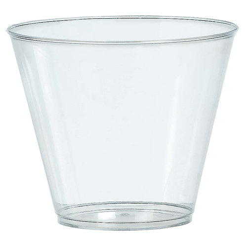 Clear 9oz Plastic Cups 72ct