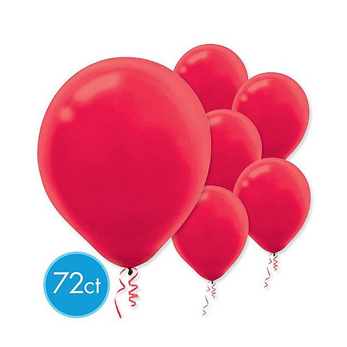 Red Latex Balloons - Packaged, 72ct