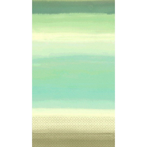 Beach Glass Guest Towels 16ct
