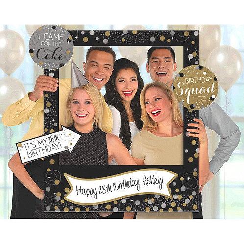 Sparkling Celebration Customizable Giant Photo Frame
