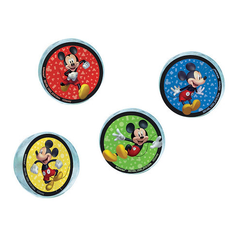 Mickey Mouse Forever Bounce Balls 4ct