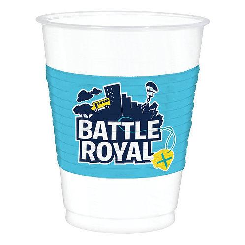 Battle Royal Plastic Cup 8ct