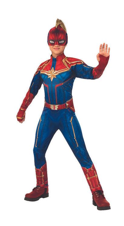 Child Captain Marvel Costume