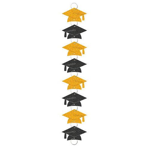 Graduation Ring Garland - Yellow